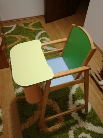 Vand scaun copil din lemn