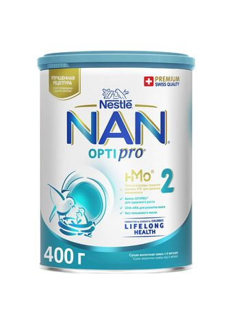 Детская смесь молочная NAN 2
