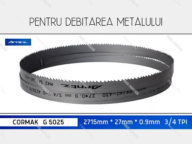 Panza 2715x27x3/4 fierastrau panglica banzic metal CORMAK G 5025