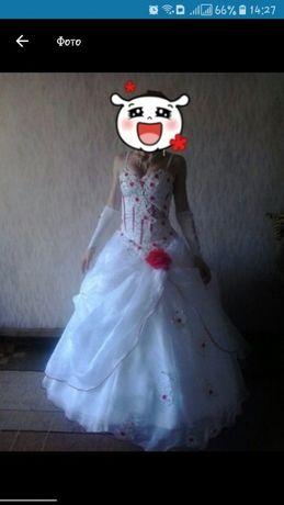 Продам свадебное платье, можно на выпускной