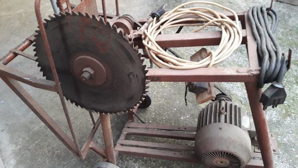 Цинкуляр 5кв трифазен мотор