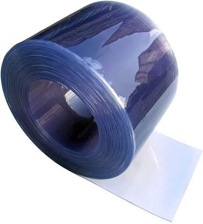 Lamele din PVC transparent pentru perdele industriale, 300 x 3mm x 50m