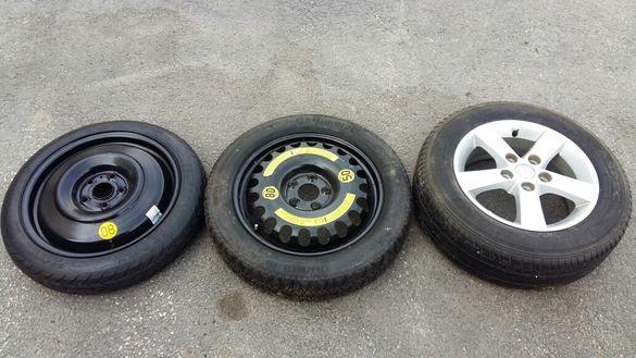 резервна гума патерица toyota mercedes mazda 5x112 5x114.3