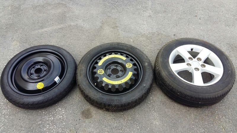 резервна гума патерица toyota mercedes mazda 5x112 5x114.3 гр. Пазарджик - image 1