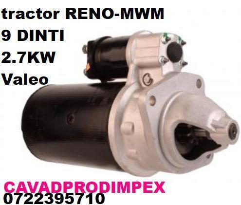 Electromotor pentru tractor RENO valeo 9 dinti