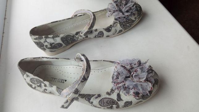 Туфли нарядные на девочку 8-10лет