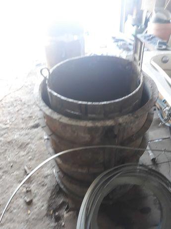 COFRAJE TUBURri beton  tub oxigen