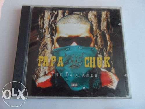 Papa Chuk - The Badlands - оригинално Audio CD 1994 Underground RAP -