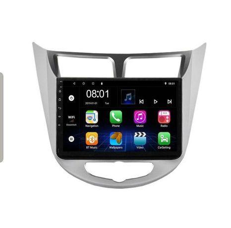 Автомагнитола Android  Hyundai Accent 2012/2021