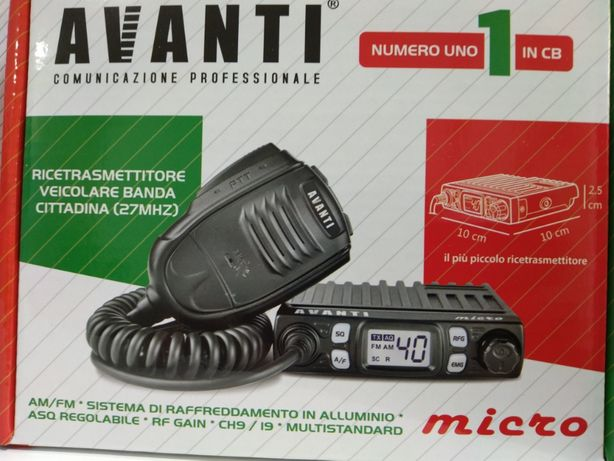 Avanti Micro Pro Version Statie radio