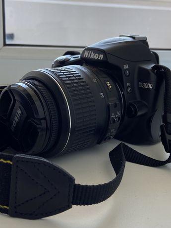 Зеркальный фотоаппарат NIKON D3000 kit