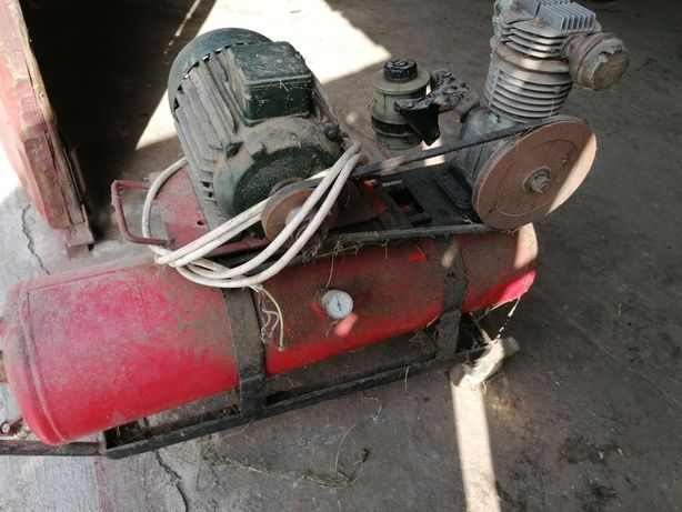 Compresor cu motor la 380