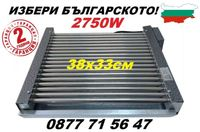 Електрическа скара за печене 2750w 18 нагревателя неръждавейка
