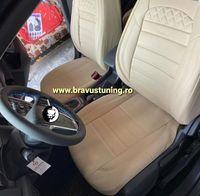 Huse scaun auto Piele Ecologica Skoda Octavia, Passat,Audi,BMW, etc