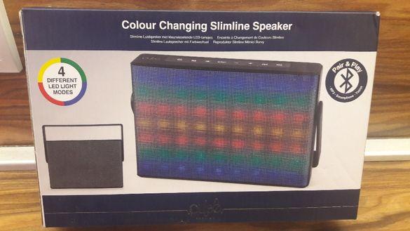 Колонка с блутуут, ЛЕД осветление, микрофон от PULSE Premium