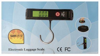 Cantar de mana, afisaj LCD, portabil, pentru cantarire bagaje - 50Kg.