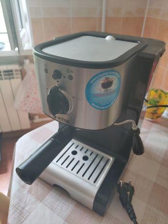 Рожковая кофеварка эспрессо капучино