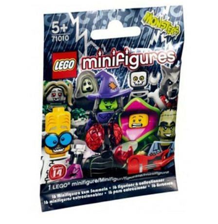 "Sigilat LEGO 71010  Minifigurine seria 14 ""Monsters """