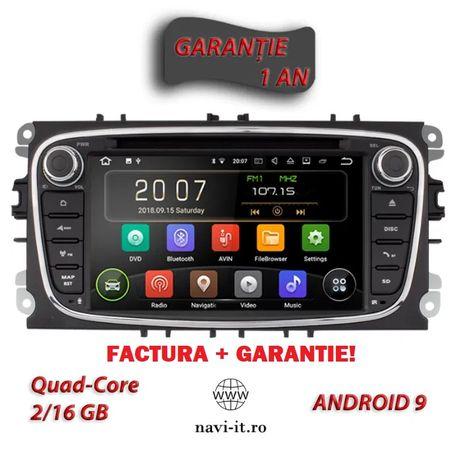Navigatie auto Ford Focus,Mondeo, Galaxy,S Max, Android 10, Garantie