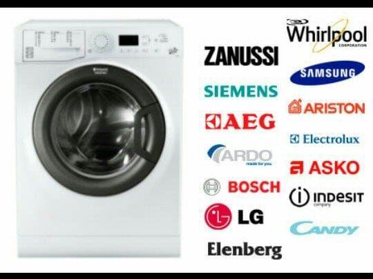 Запчасти на стиральную машину доставка установка