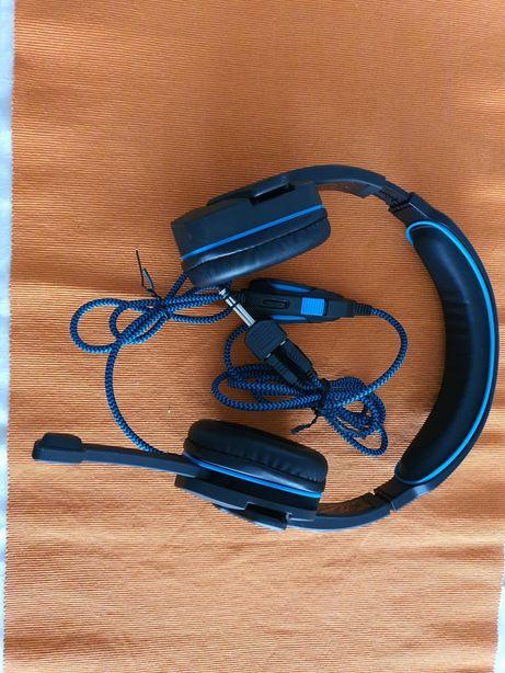 Casca audio si telefon