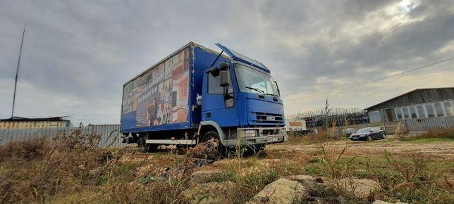 Transport marfa 7,5 tone , inchiriez camion marfa cu lift hidraulic