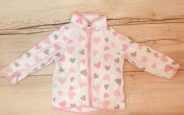 Jacheta din fleece H&M, marime 86 cm
