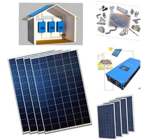 Curent Electric cu Panouri Solare Fotovoltaice OnGrid