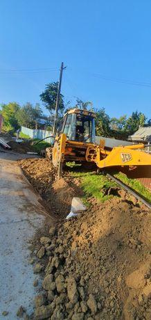 buldoexcavator   excavator jcb  sapaturi santuri