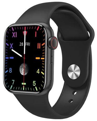 Умные часы Smart Watch М16 Plus 2021 44mm красный чёрный белый!