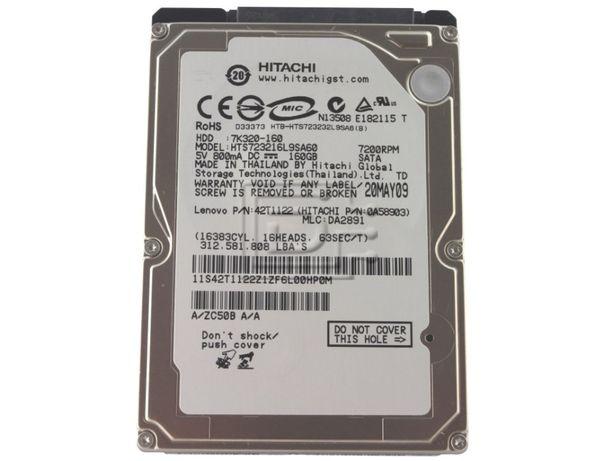 "Hard disk Hitachi 0A58903 7K320 160GB, 7200 rpm, 2.5"" SATA de vanzare"