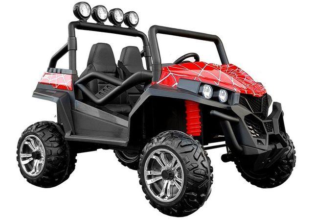 UTV electric pentru copii Golf-Kart S2588 180W PREMIUM #Spyder RED