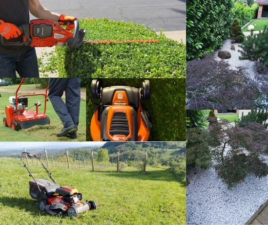 Cosit, defrișat, curatiri terenuri, amenajare și întrețin spatii verzi