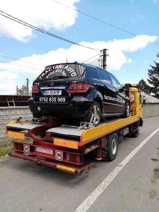 Tractari auto 24/7 Depanari, Transport utilaje, servici macara. Falticeni - imagine 1