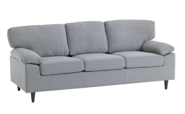 Canapea GEDVED 3 locuri gri deschis