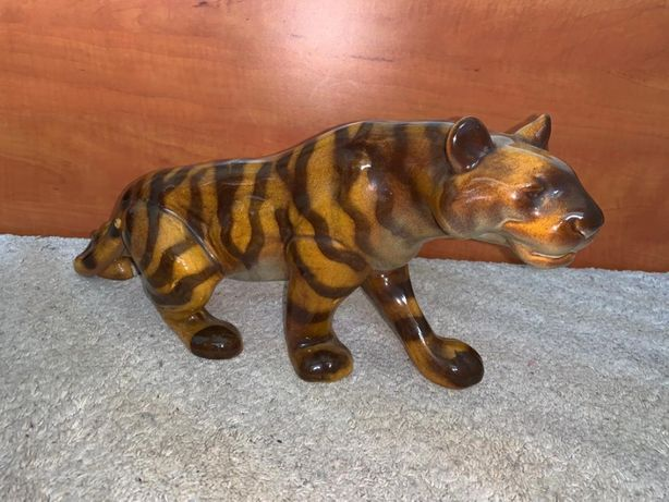 Bibelou Tigru porțelan model vechi