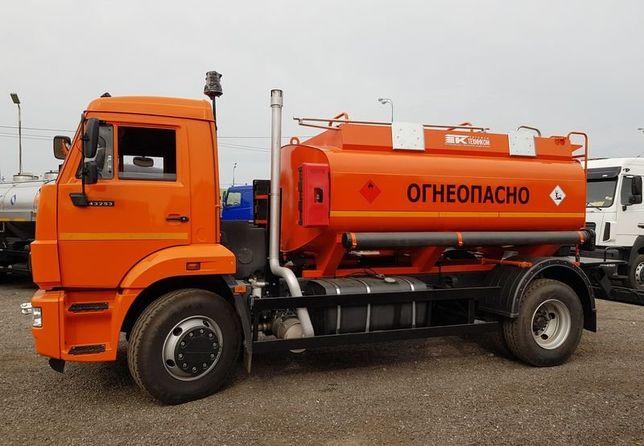 Автотопливозаправщик Камаз 9000 литров