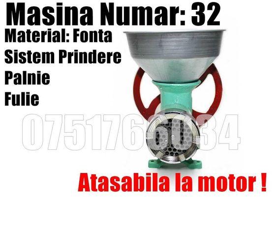 Masina Tocat Maruntit 32 Fulie Palnie Manuala Motor LIVRAREA GRATUITA