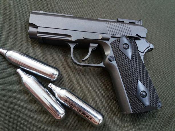 REDUCEREA SAPTAMANII upgradat 4.5j Colt 1911 Pistol Airsoft Full Metal