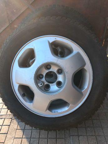 Зимни гуми с алуминиеви джанти