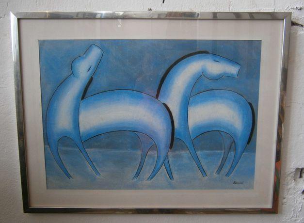 Tablou (Pastel) semnat de artistul italian BENINI (Pictura)
