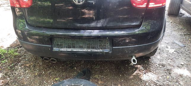 Bara spate completa cu senzori parcare VW Golf 5 hatchback - neagra
