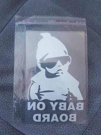 Стикер за кола бебе