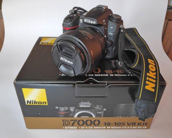 Nikon D7000 + Nikon AF-S 16-85mm f/3.5-5.6G DX