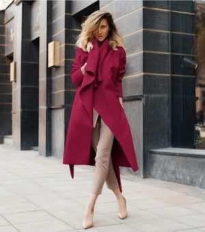 palton bej -marime universala
