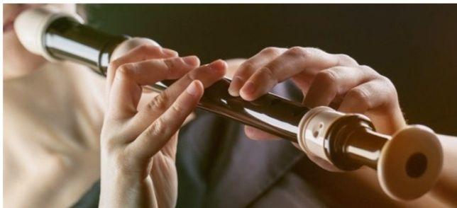 Уроки блокфлейты и фортепиано