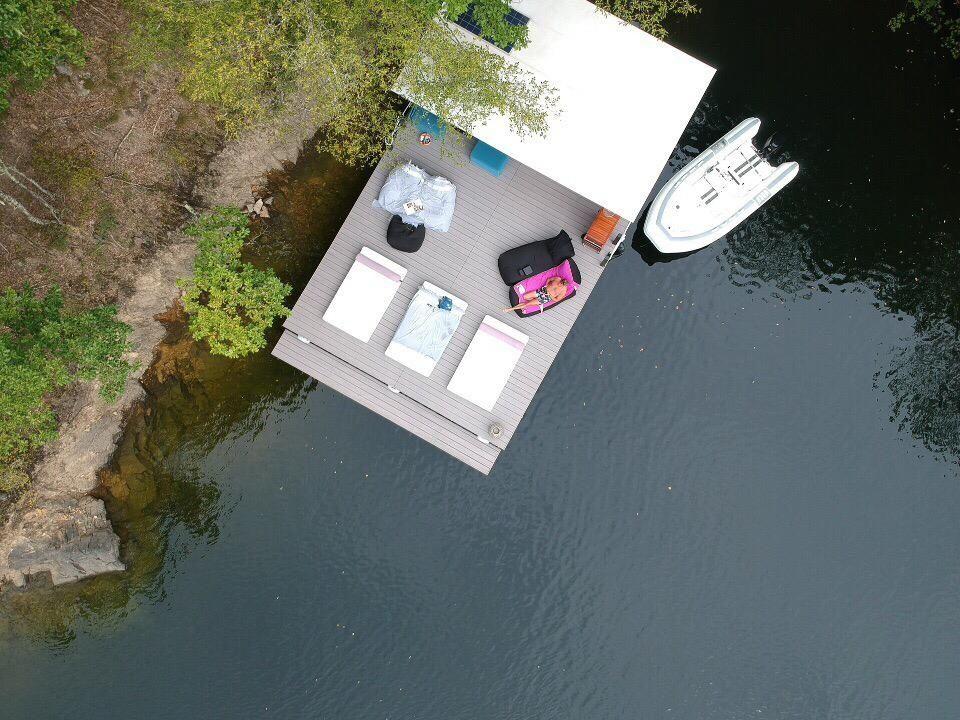 Catamaran (Ponton) electric