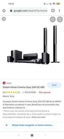 Home cinema Sony Schimb