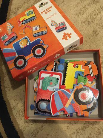 Puzzle autovehicule, pt copii