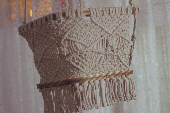 Leagăn handmade macrame copii